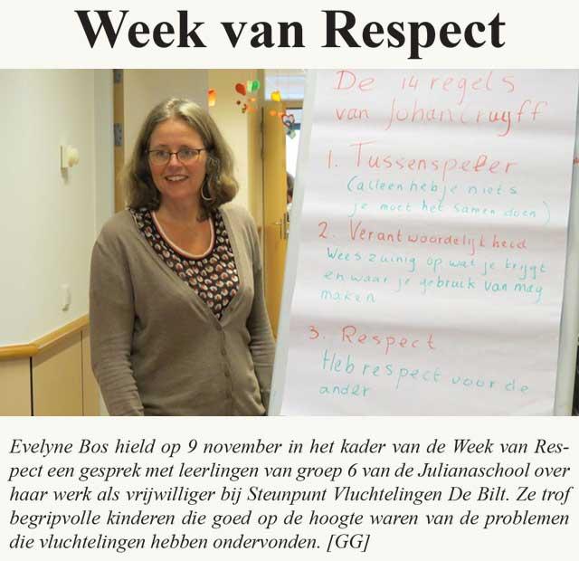 week van respect 2018
